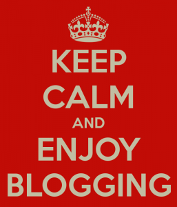Learning to blog is a step by step process. Be patient, enjoy it. Credit: http://chri1311.blogspot.com/
